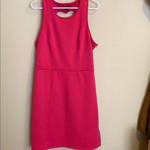 Heart cutout dress
